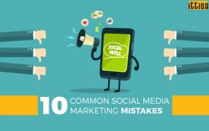 social media marketing mistakes 1
